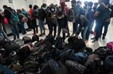 Le Mexique empêche le passage d'une caravane de migrants