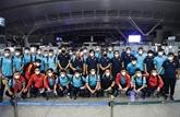 L'équipe vietnamienne s'est bien préparée pour le match contre l'Arabie saoudite
