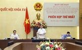 Le chef de l'AN souligne l'édification et le perfectionnement du système juridique