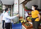 Le PM inspecte le lieu le plus touché par le COVID-19 à Hanoï