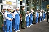 La délégation militaire du Vietnam est arrivée en Russie