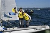 JO-2020 - Voile/470 : les Australiens Belcher/Ryan champions olympiques
