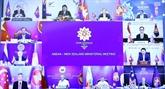 Réunion des ministres des Affaires étrangères ASEAN - Nouvelle Zélande