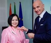 Mme Trang Lê, ambassadrice de la cuisine italienne au Vietnam 2021