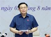 Le président de l'Assemblée nationale travaille avec des électeurs de Hai Phong
