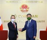 Le ministre de la Police reçoit l'ambassadeur thaïlandais