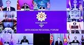 Le ministre des Affaires étrangères au 28e Forum régional de l'ASEAN