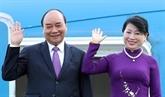 Le président vietnamien entame sa visite d'amitié officielle au Laos