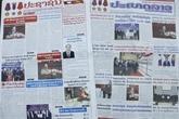 La presse lao couvre la visite d'amitié officielle du président Nguyên Xuân Phuc