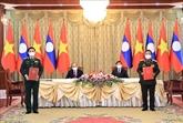 Vietnam - Laos : renforcement de la coopération entre les ministères de la Défense