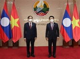 Le ministre des Affaires étrangères travaille avec son homologue lao