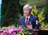 Renforcement de la coopération entre le Front de la Patrie du Vietnam et le Front d'édification nationale du Laos