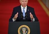 Le départ des Américains défendu par Biden, célébré par les talibans