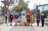 Fête nationale : l'ambassade du Vietnam au Chili rend hommage au Président Hô Chi Minh