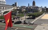 Drapeau vietnamien hissé à San Francisco à l'occasion de la Fête nationale