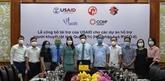 Quang Tri : aide de l'USAID aux personnes handicapées