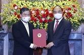 Le chef de l'État nomme un nouvel ambassadeur du Vietnam au Cambodge