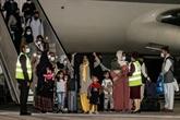 Premier vol d'évacuation de Kaboul depuis fin août