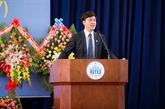 Nguyên Duy Anh, premier Vietnamien à devenir recteur d'université au Japon