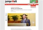 Presse allemande : la visite du président de l'AN en Europe reflète la politique diversifiée du Vietnam