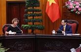 Le Premier ministre vietnamien reçoit l'ambassadrice des Pays-Bas à Hanoï