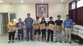 COVID-19 : Kiên Giang aux côtés des travailleurs vietnamiens au Cambodge