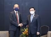 Vuong Dinh Huê rencontre les dirigeants de Siemens Energy AG