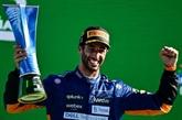 F1 : Ricciardo et McLaren en liesse après la victoire au GP d'Italie