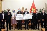 La France et l'Italie font don de 1,5 million de doses de vaccin au Vietnam