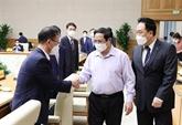 Le Premier ministre Pham Minh Chinhtient en haute estime les entreprises sud-coréennes