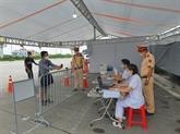 COVID-19 : installation de caméras de scannage de QR codes aux points de contrôle à Hanoï