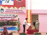 Rentrée scolaire 2021-2022 de l'école bilingue vietnamo-lao Nguyên Du