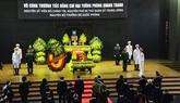 Cérémonie des fuinérailles d'État de l'ancien ministre de la Défense Phùng Quang Thanh