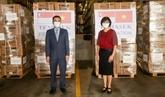 La Fondation Temasek (Singapour) soutient le Vietnam dans la lutte contre le COVID-19