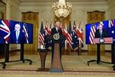Biden embarque l'Australie et le Royaume-Uni dans une nouvelle alliance stratégique