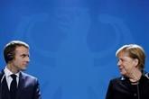 Macron reçoit une dernière fois Merkel