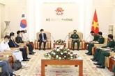Le Vietnam et la République de Corée cultivent leurs liens de défense