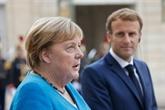 Macron reçoit Merkel avant les adieux de la chancelière