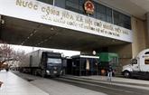 Vietnam et Chine créent un groupe de travail sur la facilitation du commerce