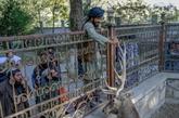 Dans le zoo de Kaboul talibanisé, sourires d'enfants, cornets glacés et Kalachnikovs