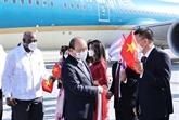 Le président vietnamien est arrivé à La Havane pour une visite officielle à Cuba