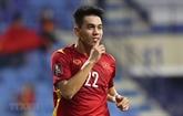 Qualifs Mondial-2022 : un footballeur vietnamien apparaît sur une affiche de la FIFA