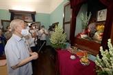 Le secrétaire général du PCV rend hommage au Président Hô Chi Minh