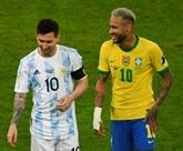 Mondial-2022 : la fenêtre sud-américaine dominée par le veto anglais et le choc Messi-Neymar