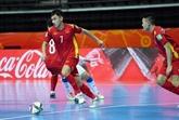 Coupe du monde de Futsal 2021 : le Vietnam gagne un ticket pour la seconde phase