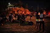 À Samos, après le feu, la Grèce transfère les migrants vers le nouveau camp