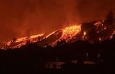 Canaries : de nombreuses maisons détruites par la lave, 5.000 évacuations