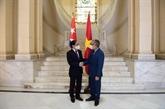 Le ministre vietnamien des AE rencontre le ministre p.i cubain des AE