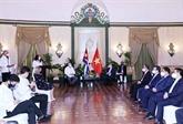 Le Vietnam et Cuba promeuvent leur coopération à travers le Comité intergouvernemental
