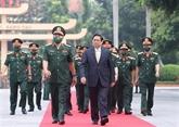 Le PM exhorte l'Académie de la défense nationale à relever le défi de la modernité
